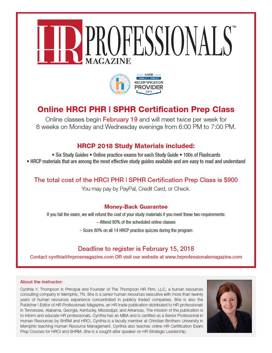 Shrm Cphrci Certification Prep Class Online Gulf Coast Human