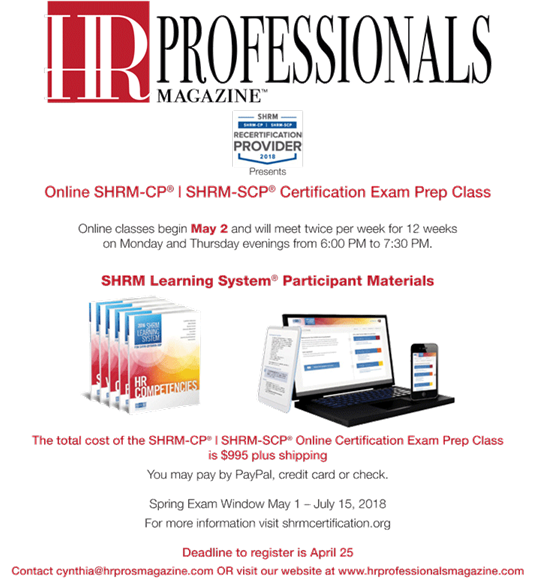 Shrm Cpscp Certification Prep Class Online Gulf Coast Human